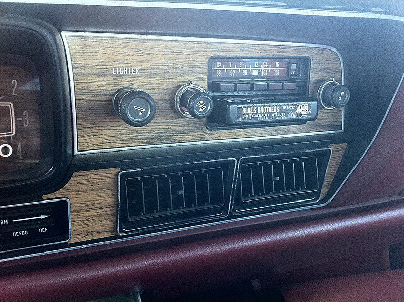 8 Track Tape Player