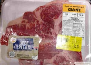 Save money on meat and poultry with marked down items