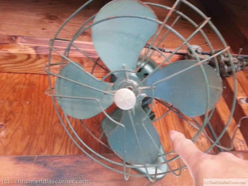 A pre-Osha Fan