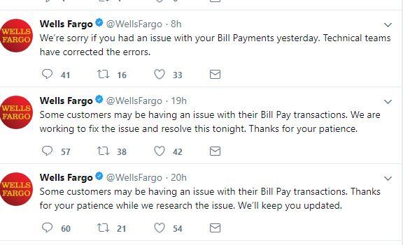 Wells Fargo Error