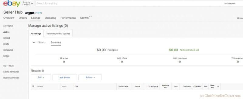 Build an eBay Seller Rating