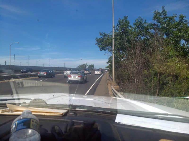 Roadside assistance horror - Shoulder