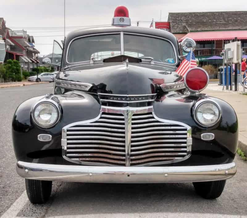 Front Grill 1940 Chevy Cop Car