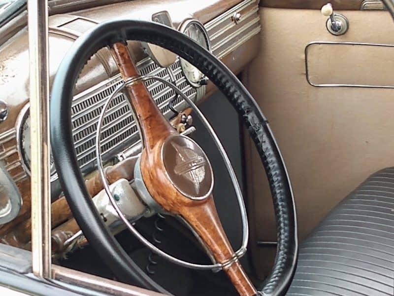 Interior -  1940 Chevy Cop Car