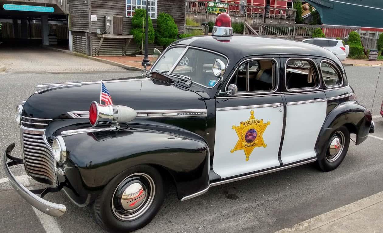 1940 Chevy Cop Car