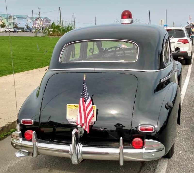 Rear - 1940 Chevy Cop Car