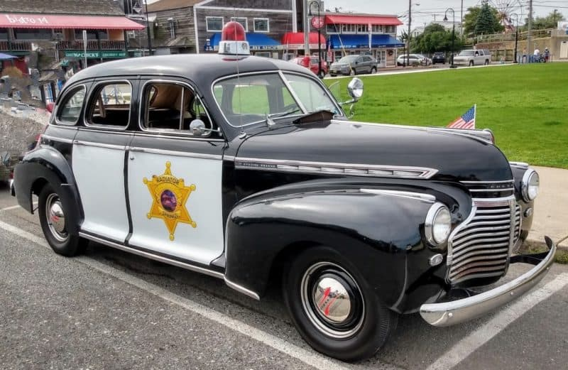 1940 Chevy Cop Car - Radiator Springs - Passenger Side