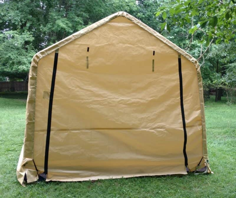 Harbor Freight 10 x 17 Portable Garage (tent) - Chris ...