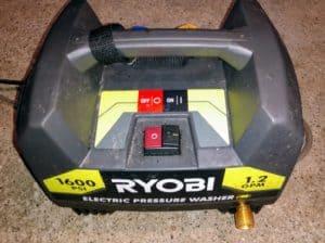 Ryobi 1600 pressure washer
