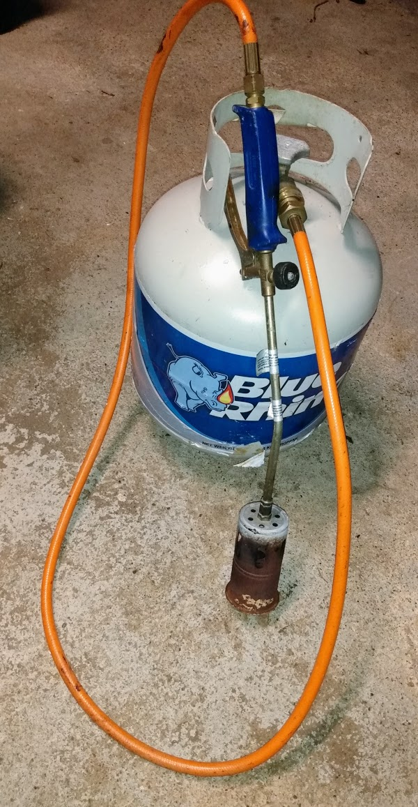Large propane Torch