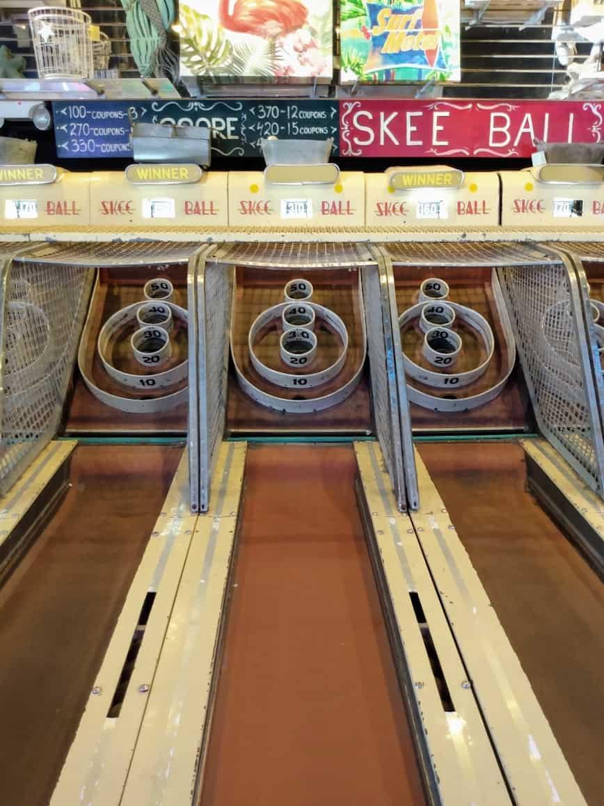 Skee Ball Lanes