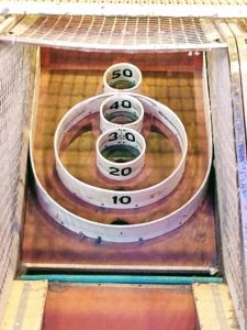 Target Holes for Skee Ball