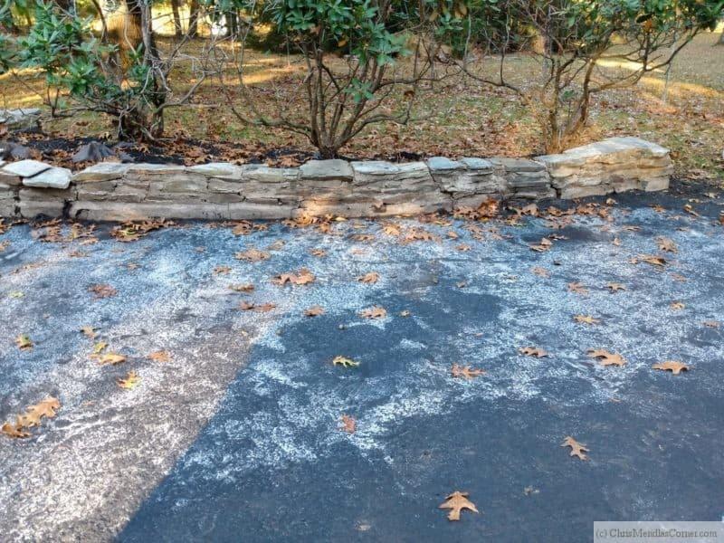 Driveway Sealer Failure