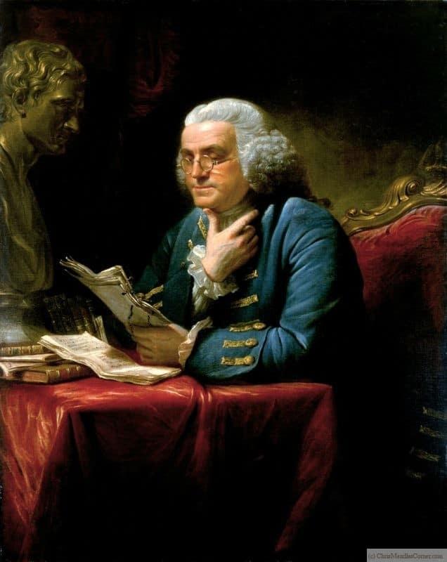 Benjamin Franklin  Author of