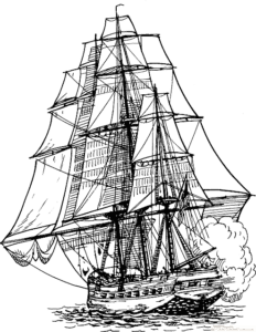 Frigate Sailing Ship Sail Ship