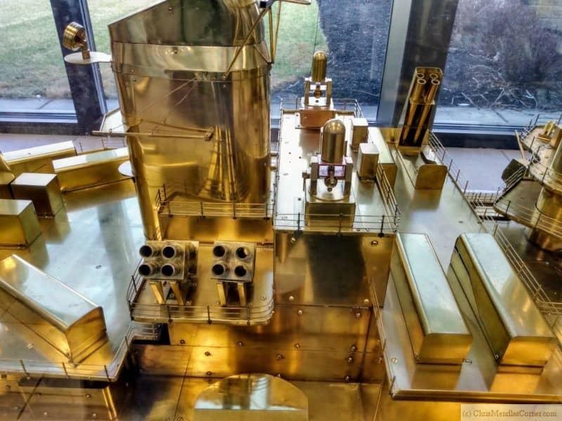 Battleship New Jersey Brass Model Superstructure 2