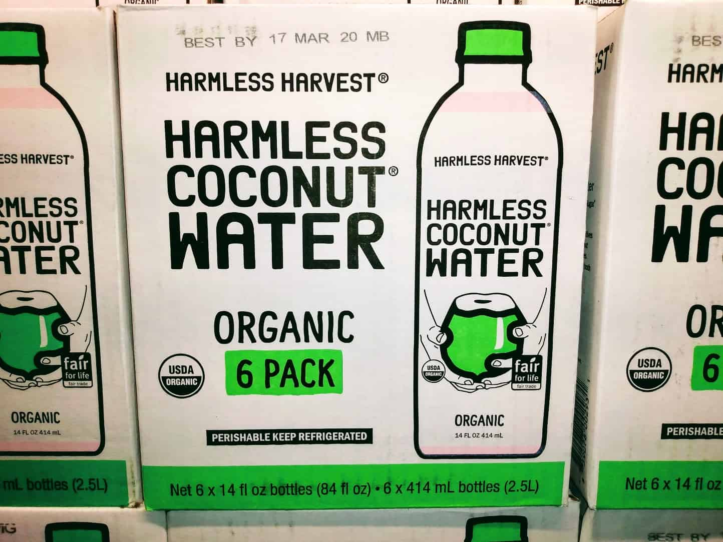 Harmless Coconut Water - What a name