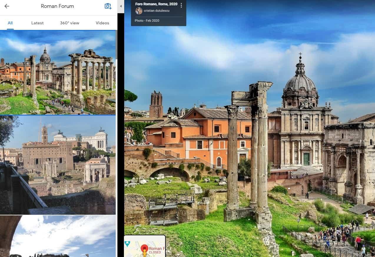 Google maps photos