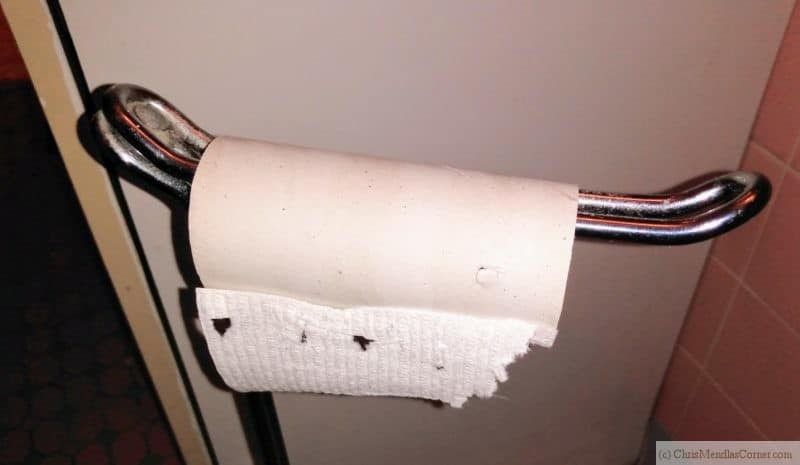 Supplies such as toilet paper