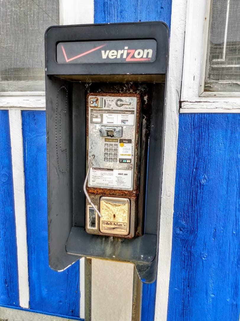 Old Verizon Pay Phone