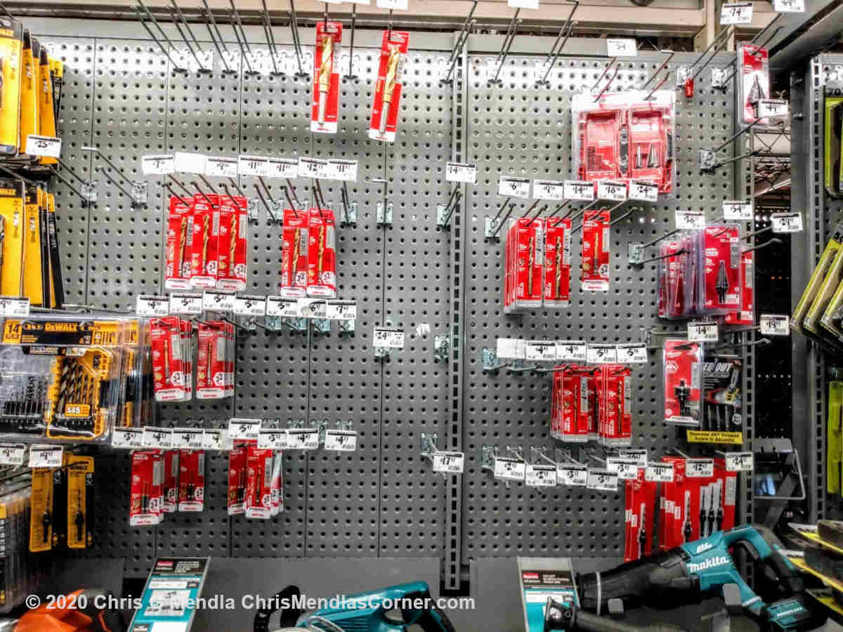 Drill bits out of stock Home Depot
